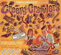 So much more dangerous than an easy bake oven, I can still smell the hot plastic and burned fingers!