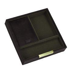 Square box, 2 dielny set / tobacco