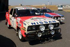 日産バイオレット 1982年サファリラリー優勝車
