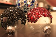 Bejeweled ornaments