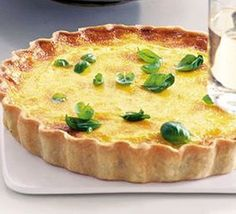 Tomato & saffron tart : Smart and sophisticated tomato and saffron tart for a special occasion