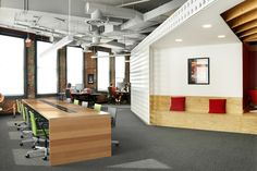 Mozilla YVR office by Hughes Condon Marler Architects, Vancouver – Canada »  Retail Design Blog