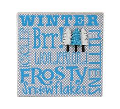 Crafts Direct Christmas Project: Winter Wood Painting Panel