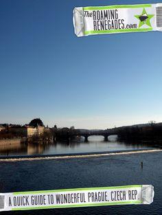 A quick guide to the wonderful Prague, Czech Republic > http://theroamingrenegades.com/2016/04/quick-guide-wonderful-prague-czech-republic.html |  #Prague #Czechrepublic #Czech #photography #Europe #EasternEurope #CentralEurope #Wanderlust #Traveltips #travel #backpacking #adventure #worldtrip #Travel