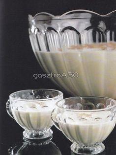 Egg Nog koktél | Receptek | gasztroABC Egg Nog, Punch Bowls, Eggs, Egg, Egg As Food