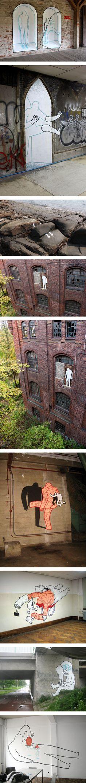 The Bizarre Street Art of Daan Botlek