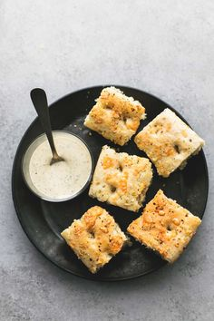 Warm and soft Easy Focaccia Bread with herb and parmesan topping is a breeze to make, has perfect texture and flavor, and pairs well with all almost any meal.