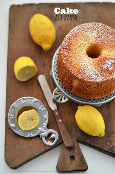 PANEDOLCEALCIOCCOLATO: Lemon cake ... the Fluffosa Monica !!!!