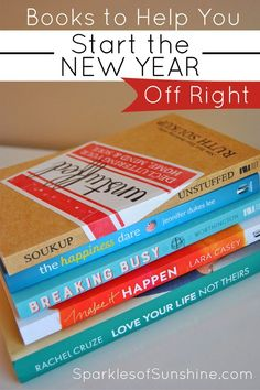 Start the new year off right with these books meant to encourage, motivate and inspire you.