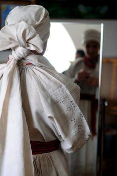 Whitework embroidery from Rivne region, Polissya, Ukraine