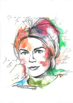 Portrait of Lucia Locusteanu