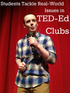 Students Tackle Real-World Issues in TED-Ed Clubs http://www.educationworld.com/a_curr/ted-ed-clubs-students-public-speaking.shtml #TED #Education