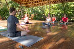 Yoga in Costa Rica!  #VCHealthyLife