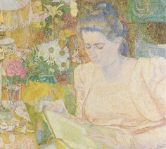 Only 42 more nights until you can see this pointillist work by Jan Toorop: the portrait of Marie Jeannette de Lange. Toorop happened to be the initiator of the first Dutch Vincent van Gogh exhibition.