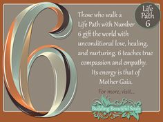 NUMEROLOGY 6 - Learn the NUMEROLOGY MEANINGS & spiritual significance of NUMBER 6. In-depth descriptions for LIFE PATH, COMPATIBILITY, DESTINY, & CAREER!