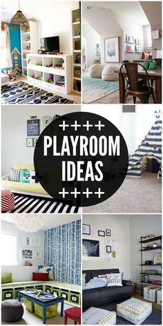 Merveilleux A Roundup Of Amazing Playroom Ideas! Check It Out On { Lilluna.com }