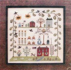 Country Stitches/With Thy Needle & Thread ~ Sampler of the Season: Summer