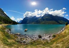 Lovatnet, Loen, Stryn, Song og Fjordane, Norway