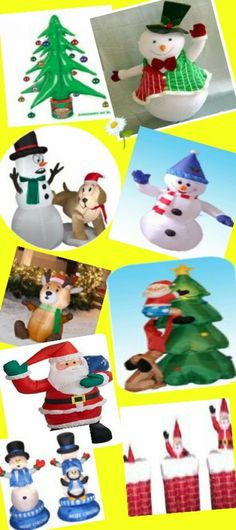 Indoor and Outdoor Christmas inflatables and blow ups are the best way to decorate your house on the special festive season. These will catch attention of your neighbors and adds lot of beauty to your celebration.