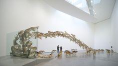 """Head On""by artist Cai Guo-QiangDeutsche GuggenheimBerlin,Germany 2006"