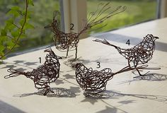 Rusty Wire Birds