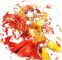 Pyrrha the fall maiden