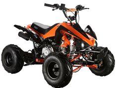 GMX The Beast Orange 110cc SPORTS Quad Bike