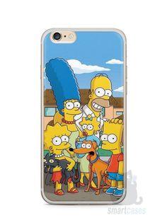 Capa Iphone 6/S Plus Família Simpsons #1 - SmartCases - Acessórios para celulares e tablets :)