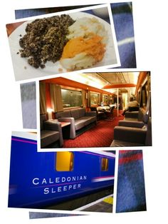 Travelling (and dining) in style