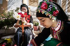 Easter at Karpathos island Karpathos, Holy Friday, Greek Dress, Greek Culture, Photography Articles, Ethnic Dress, People Of The World, Greek Islands, Traditional Outfits
