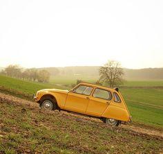 MADE in France Adesivo Cromato-Francese Classico Auto Adesivo CITROEN 2CV