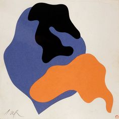 MTT (Jean Arp: Maquettes de l´affiche pour l´exposition. Jean Arp, Art And Illustration, Gravure Illustration, Inspiration Art, Art Inspo, Contemporary Abstract Art, Modern Art, Contemporary Printmaking, Action Painting