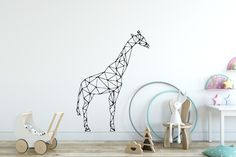Minimalist Home Deco Removable Wall Decals, Wall Decal Sticker, Wall Stickers, Cushions, Pillows, Minimalist Home, Scandinavian Style, Decorating Your Home, Giraffe