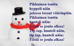 TULOSTETTAVA RUNOPOHJA joulukorttiin Christmas Greetings, Christmas Diy, Christmas Cards, Merry Christmas, Christmas Decorations, Christmas Ornaments, Holiday Decor, Winter Wonder, Xmas Crafts