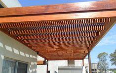 pergola madera
