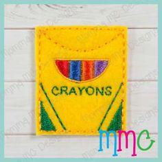 Crayon Box Feltie