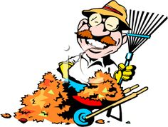The Clip Art Guide Blog: Cleaning Up Outside for Winter