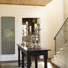 Staircase Photos Shiplap Design Ideas,