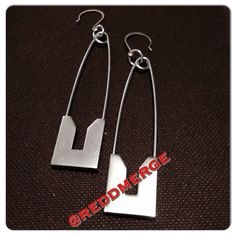 SafetyPin earrings on Etsy, $28.90