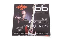 Rotosound BS66 Swing Bass 66 Stainless Steel Bass Guitar Strings (43 65 80 110) by Rotosound. Save 50 Off!. $19.99. From the Swing Bass 66 range, this is Billy's custom signature set using his preferred 43-110 gauges. The most popular Roundwound bass string ever. Rotosound was the first string company to produce this kind of string. Introduced in 1962 it changed the sound of the instrument instantly. The favourite string of many players including Billy Sheehan, John Paul Jones and Geddy...