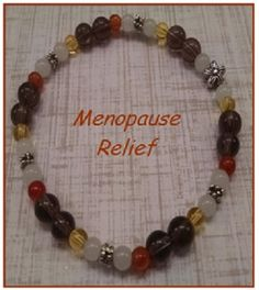 Menopause Relief Healing Bracelet by CrystalMeB on Etsy Menopause Diet, Menopause Relief, Menopause Symptoms, Healing Bracelets, Crystal Bracelets, Signs And Symptoms, Menstrual Cycle, Get Over It, Crystal Healing