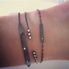 Stine A jewellery ★ oxidised bracelets