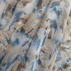 Water On The Rocks - Silk - Tessuti Fabrics - Online Fabric Store - Cotton, Linen, Silk, Bridal & more
