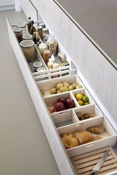 50 Creative Storage Drawer Cabinets For . - 50 Creative Storage Drawer Cabinets For Modern Kitchen Furniture, That Will Amaze You Modern Kitchen Furniture, Modern Kitchen Cabinets, Kitchen Drawers, Modern Kitchen Design, Home Decor Kitchen, Interior Design Kitchen, New Kitchen, Home Kitchens, Kitchen Ideas