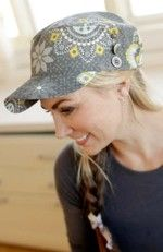 Classic Cap sewing pattern from Indygo Junction