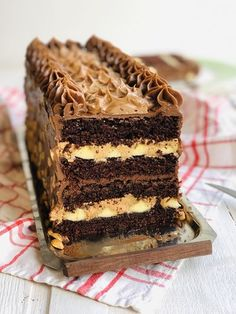 Mousse, Cake Recipes, Dessert Recipes, Food Cakes, Yummy Cookies, Something Sweet, Caramel, Cake Decorating, Bakery