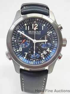 Brand New Mens Bremont Blue Dial Chronograph Chronometer Watch #Bremont #LuxurySportStyles
