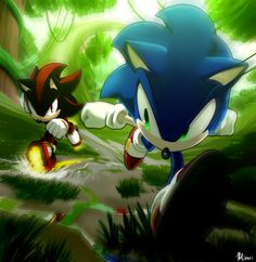 The Ultimate Lifeform vs Shadow by Myly14 on DeviantArt