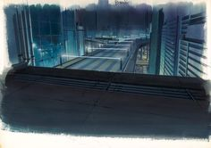 The Museum of Architectural Drawing in Berlin showcases the superb drawings of urban architecture made for a range of Japanese anime such as Ghost in the Shell. Meme Background, Animation Background, Scenery Background, Background Ideas, Shell Drawing, Architecture Background, Creators Project, House Illustration, Urban Architecture