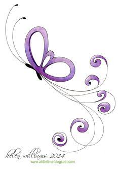 ik wil er laten nog vlinders bij tekenen om het op te vrolijken